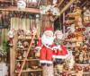 Pelo 24º ano, Casa da Mamãe Noel encanta pelo ambiente natalino