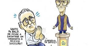 Confira a charge de Jota A publicada na edição desta sexta do Jornal O Dia