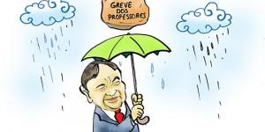 Confira a charge de Jota A publicada na edição desta terça do Jornal O Dia