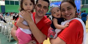 Carnaval: Renascer Teresina reúne jovens e famílias no Ginásio Verdão