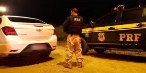 Carro roubado na BR-316 em Teresina é recuperado pela PRF
