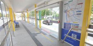 THE: sete estações de passageiro foram alvo de furtos no final de semana