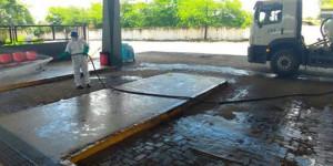 Coronavírus: 287 áreas públicas de Teresina já foram desinfectadas