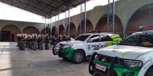 PM monta barreiras para fazer triagem de quem entra no Piauí vindo do Ceará