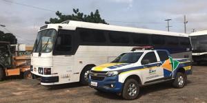 ANTT apreende ônibus vindo de SP com 47 pessoas em São João da Fronteira