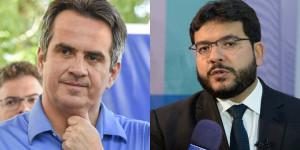 Rafael Fonteles e Ciro Nogueira trocam farpas nas redes sociais