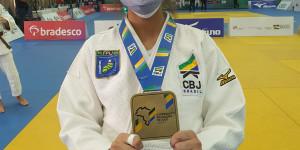 Piauiense Michelly Marinho conquista bronze no Brasileiro de Judô Sub-21 em São Paulo
