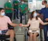 Transplante entre mãe e filho gera comoção em hospital de Teresina