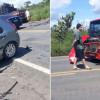 Colisão entre veículos deixa uma pessoa morta e outra ferida na BR-343