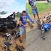 Motociclista morre ao colidir com um carro na BR-230