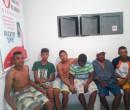 PM prende grupo suspeito de roubar cargas em Passagem Franca