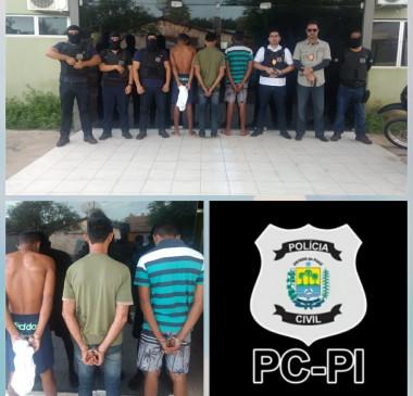 Polícia civil de piripiri deflagra