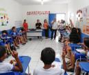 Representantes da UNESCO visitam escolas municipais