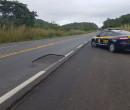 Agente penitenciário morre após colisão entre veículos na BR-343