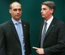 Bolsonaro avalia riscos de indicar Eduardo a embaixada