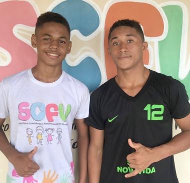 Jovens atendidos pelos SCFV são selecionados para o River FC