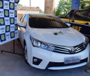 PRF recupera carro roubado na BR 343 município de Piripiri