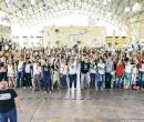 Centenas de alunos participam da revisão Pré-Enem em Parnaíba
