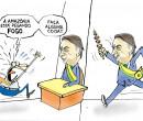 Confira a charge do ilustrador Jota A publicada nesta quinta no Jornal O Dia
