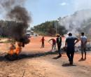 População interdita PI-112 em protesto por melhorias na rodovia
