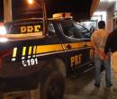 PRF prende motorista de aplicativo suspeito de dar fuga a detento