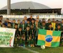 Atletas de União participam da abertura da Taça Clube Sub 11 de Futebol