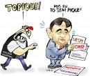 Confira a charge do ilustrador Jota A publicada nesta sexta no Jornal O Dia