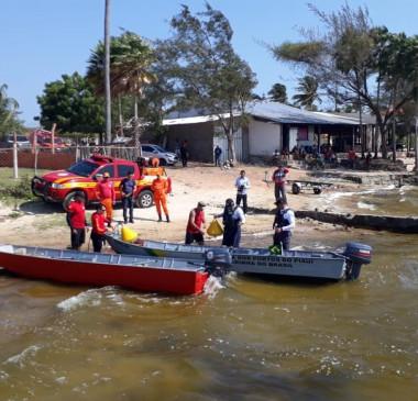 Jovem morre afogada na lagoa do Portinho ao cair de jet ski