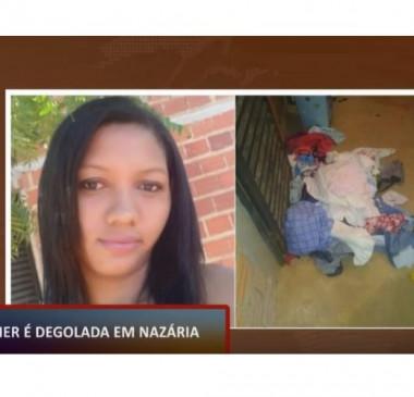 Mulher é decapitada na cidade de Nazária