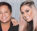 Cantor Leonardo e Poliana Rocha se declaram nos 23 anos de casamento