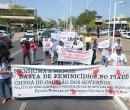 Familiares e amigos de Vanessa Carvalho pedem justiça em ato
