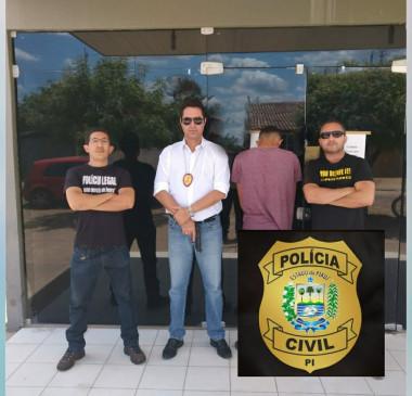 Polícia civil de Piripiri apreende autor de estupro