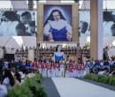 Santa Dulce dos Pobres atrai milhares a espetáculo em Salvador
