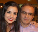 Toda felicidade para médica Bárbara Carvalho