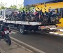 Operação da PRF apreende motocicletas na capital e interior