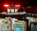 Família é presa furtando combustível em posto de Teresina