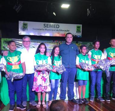 Gestão realiza Cerimônia de Congratulações do projeto IDEB