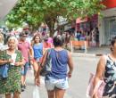Lojas do Centro e bairro funcionam até às 18h no fim de semana