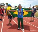 No Paraguai, Victor Raphael garante ouro duplo no Sul-Americano de atletismo