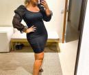 Marília Mendonça mostra curvas de vestido justinho um mês após dar à luz