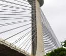 Ponte Estaiada será palco de dois eventos neste domingo (19)