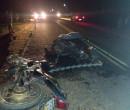 Motociclistas morrem após motos pegarem fogo durante colisão em Nazária