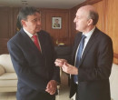 Wellington Dias e presidente da CNM discutem partilha de recursos