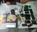Polícia apreende 14 celulares com suspeitos de roubarem arma de PM em THE