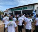 Prefeito Professor Ribinha inaugura escola climatizada na comunidade Salinas