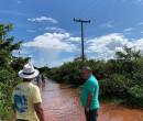 Prefeitura monitora áreas afetadas pelas chuvas e atende famílias