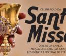 AO VIVO: Acompanhe a Santa Missa desta quarta-feira, 1º de abril