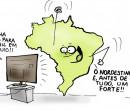 Confira a charge de Jota A publicada nesta quarta-feira no Jornal O Dia