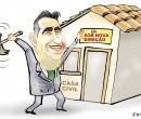 Confira a charge de Jota A publicada nesta quinta-feira no Jornal O Dia