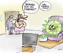 Confira a charge de Jota A publicada nesta sexta-feira no Jornal O Dia